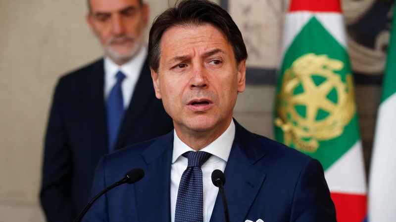 Italy's Conte accepts mandate to form new gvmt