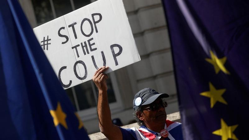 UK government defiant over pre-Brexit suspension