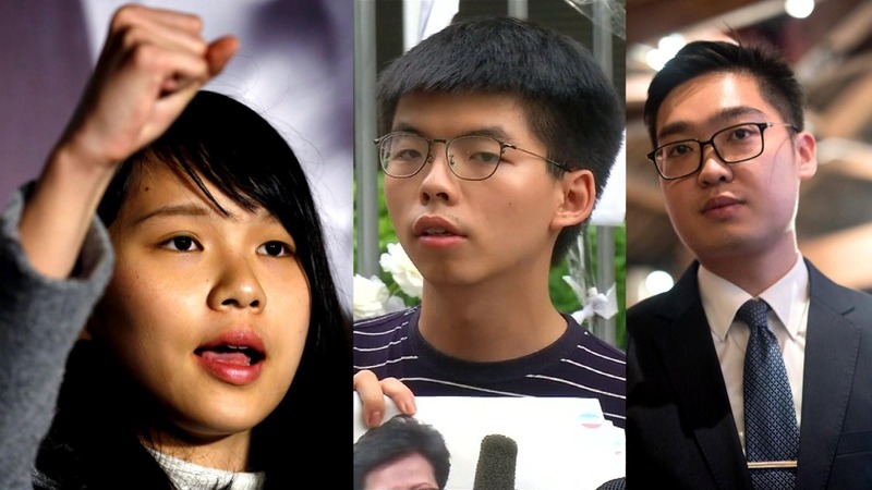 HK arrests three prominent activists in crackdown