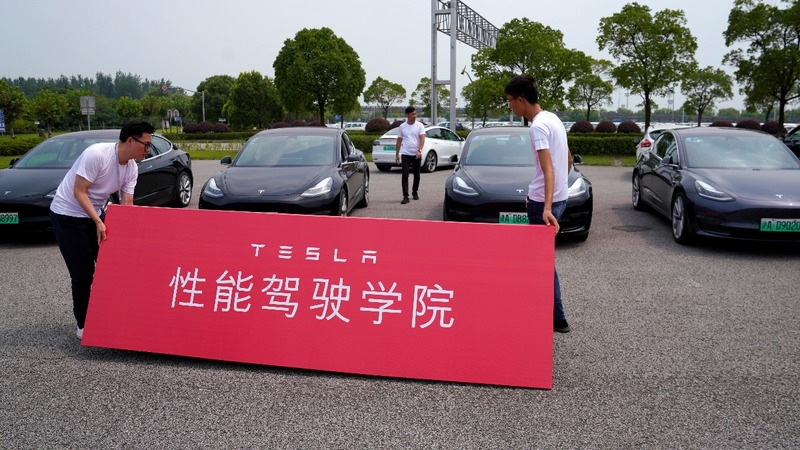 China to exempt Tesla cars from sales tax