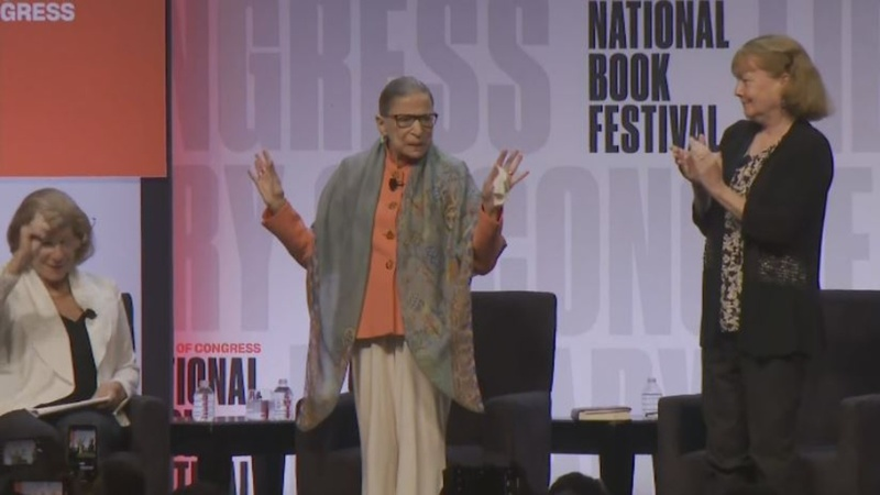 Justice Ginsburg opens up about cancer treatment