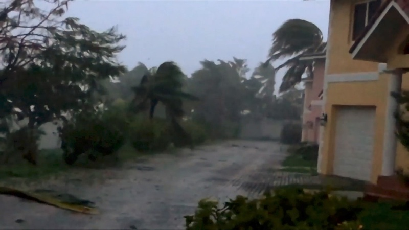Hurricane Dorian lingers after battering the Bahamas