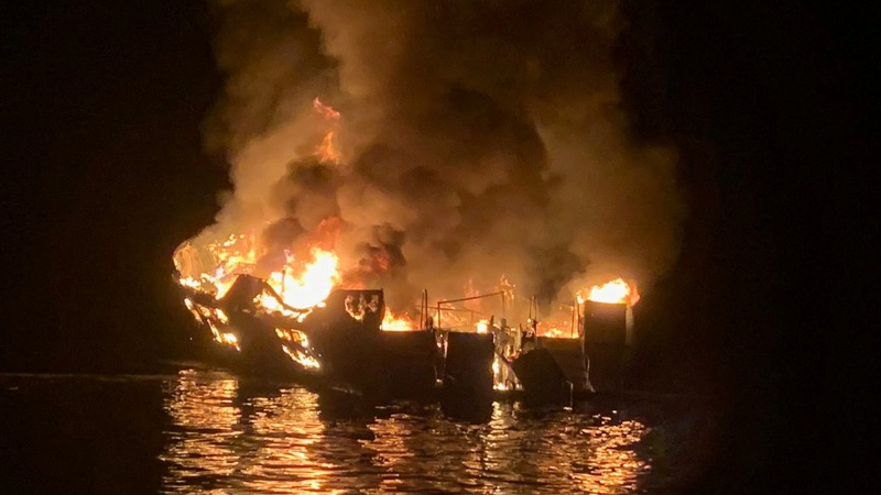 At least 25 killed in California boat fire