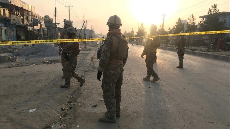 Deadly blast hits Kabul as U.S. nears peace deal