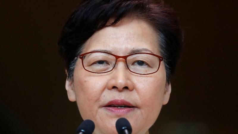 Hong Kong leader withdraws extradition bill