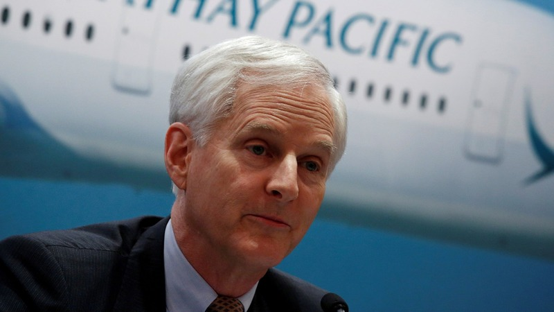 Cathay Pacific chairman quits amid HK unrest