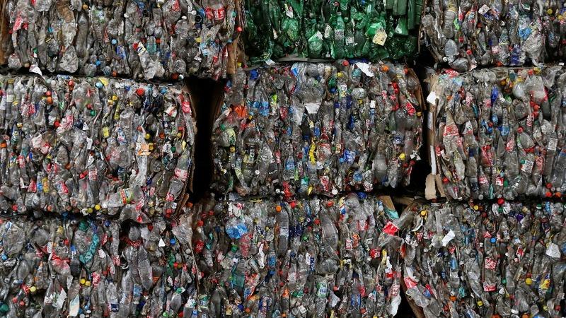 Visualizing the world's addiction to plastic bottles