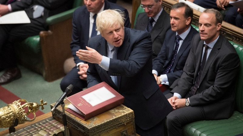 UK lawmakers vote to block a 'no-deal' Brexit