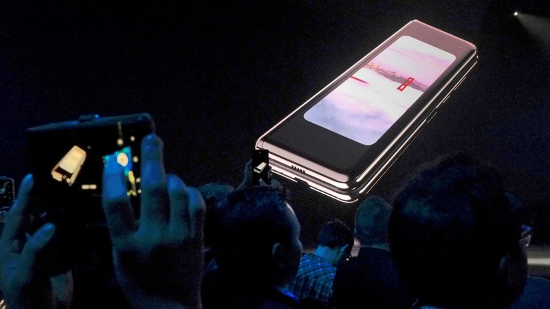 Samsung tries again with its folding phone