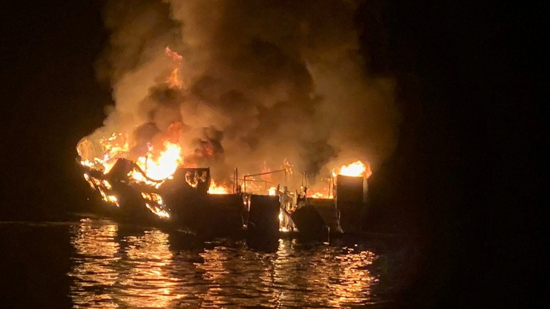 California boat fire survivors tell their story