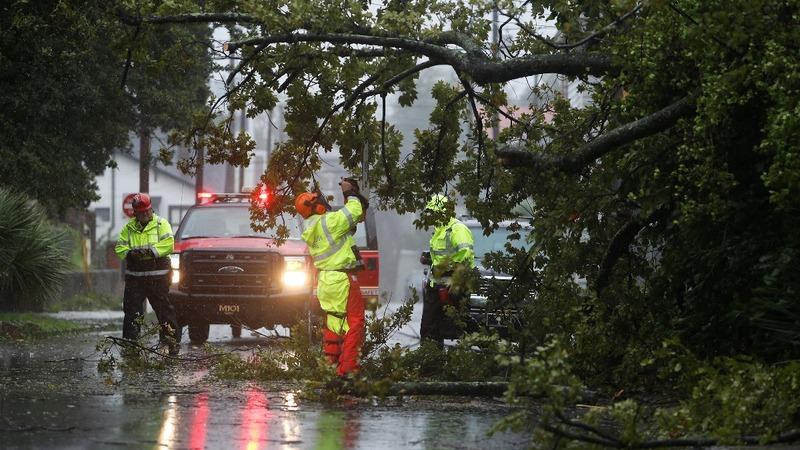 Hurricane Dorian barrels up the Carolina coast