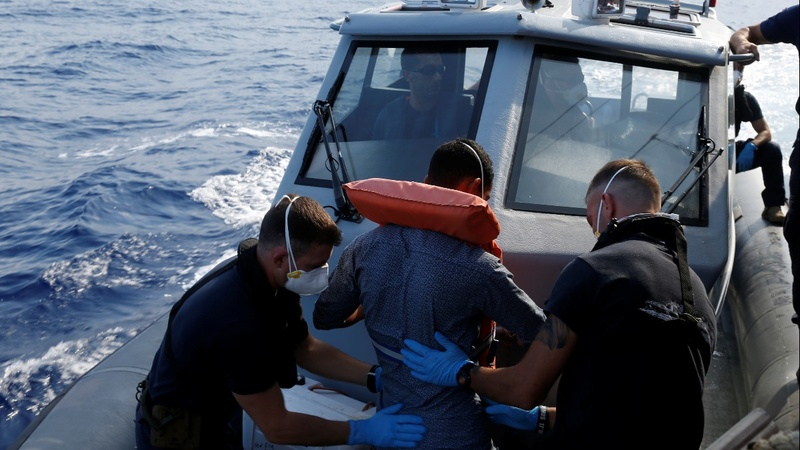 Migrants stuck on rescue ship suicidal