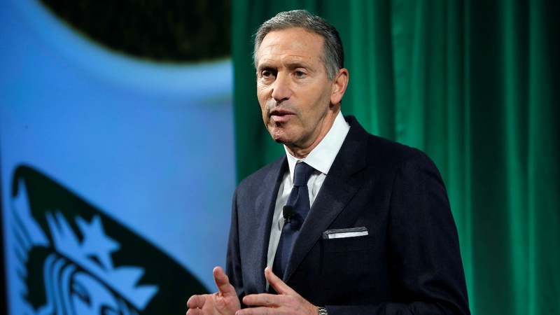 Former Starbucks CEO won't seek U.S. presidency