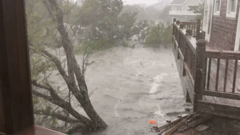 Dorian makes landfall in NC and slams Outer Banks