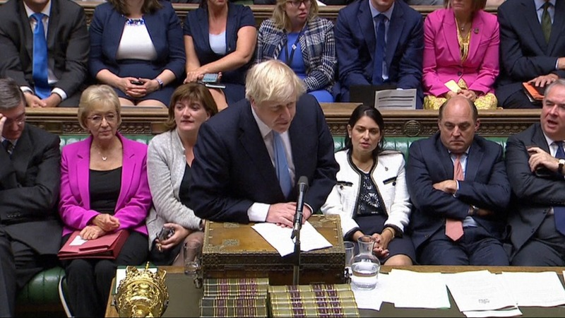 Lawmakers reject Johnson's bid for snap election
