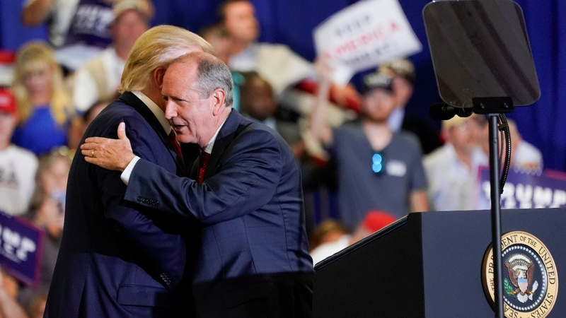 Trump faces re-election test in North Carolina