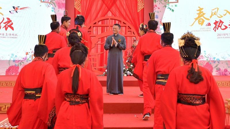 Alibaba's flamboyant Jack Ma steps down