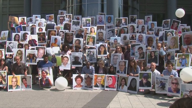 Six months on: Ethiopian Airlines families mourn