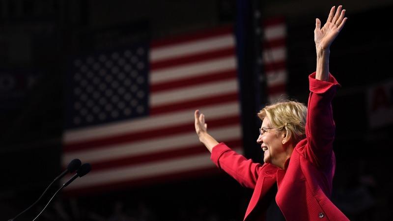 Warren gains on Biden, Sanders -Reuters/Ipsos