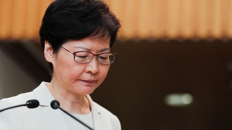 Hong Kong leader Carrie Lam's remarks in full