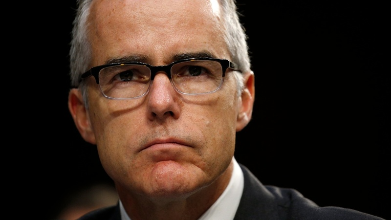 DOJ nears prosecution of ex-FBI McCabe