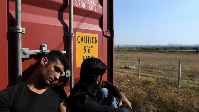 Riding the rails of Europe's new migrant surge