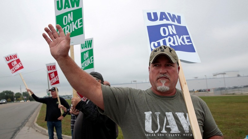 GM, UAW restart talks as workers take to picket lines