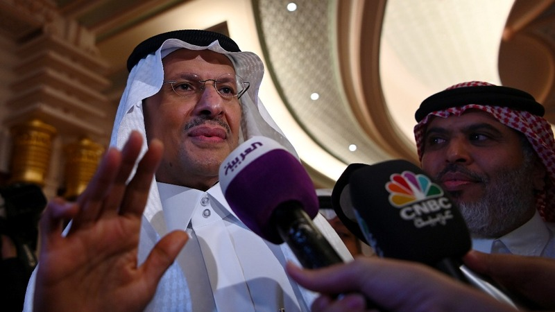 Saudi oil production back on line -energy minister