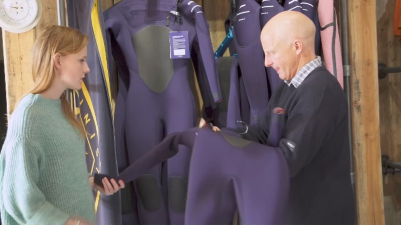 Surfing gets sustainable with world's first recyclable wetsuit