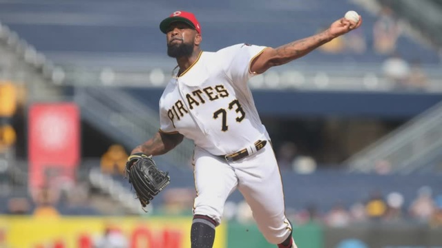 Pirates' Vazquez jailed on lurid charges