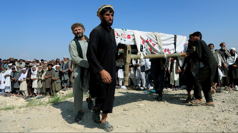 U.S. drone kills 30 farm workers in Afghanistan