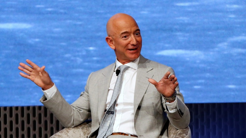 Amazon, Bezos step up fight to tackle climate change