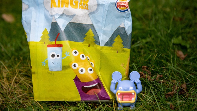 Britain's Burger King says bye-bye kids toys