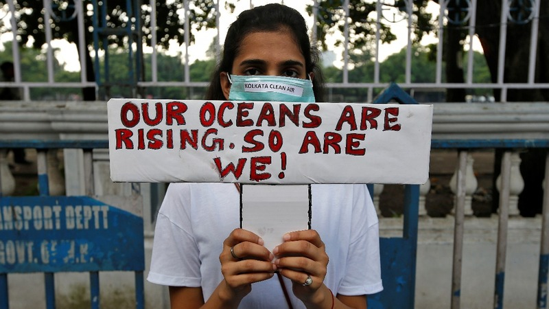 Like oceans rising: green protests sweep the globe