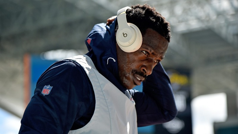 Patriots release Antonio Brown after rape allegations