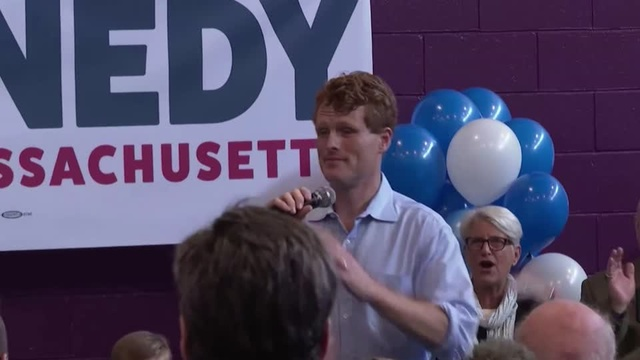 Joe Kennedy III launches campaign for U.S. Senate seat