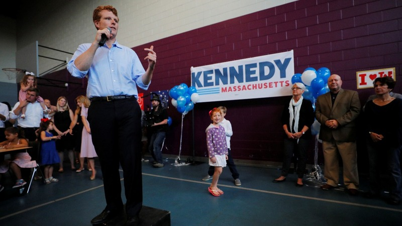 Joe Kennedy launches primary campaign for Senate