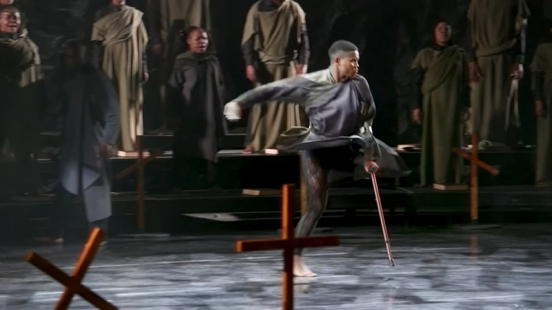 Losing a leg has not stopped this man dancing