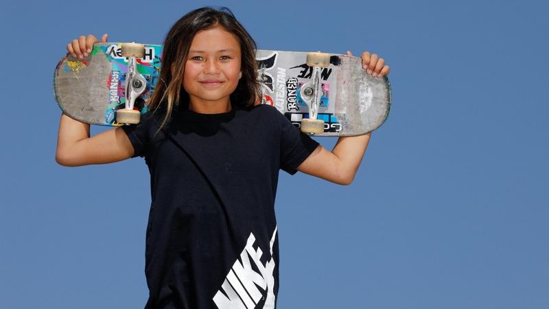 11-year-old skateboarding prodigy targets Tokyo
