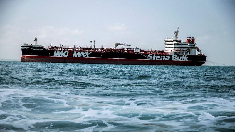 UK oil tanker leaves Iranian port after seizure