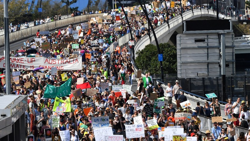 Another climate change protest sweeps the world