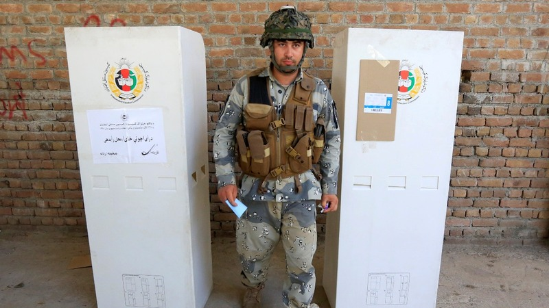 Many voters steer clear of Afghan election