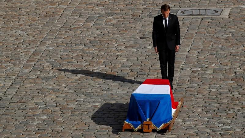 Calf's head and Chopin: France bids farewell to Chirac
