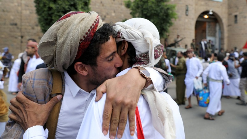 Yemen's Houthis release hundreds of detainees