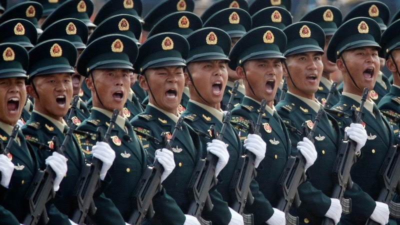 China flexes military muscle on 70th anniversary
