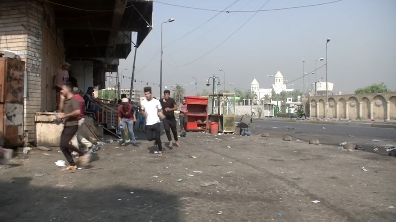 Curfew imposed in Baghdad following protests