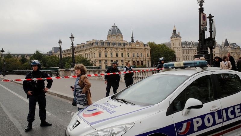 Four killed in Paris police HQ knife attack
