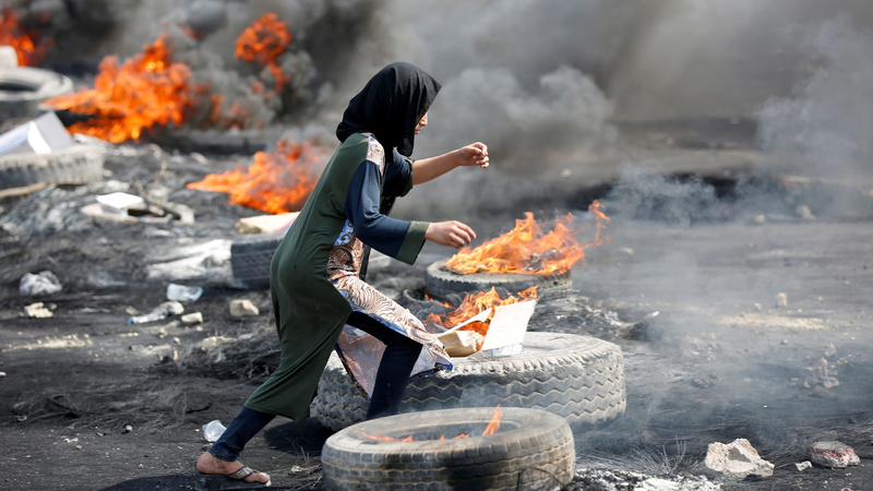At least 45 killed in Iraqi protests