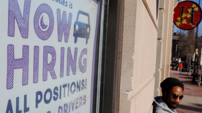 U.S. jobless rate falls to 50-year low