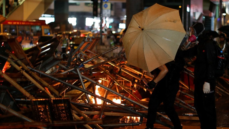 Hong Kong still reeling after violent weekend